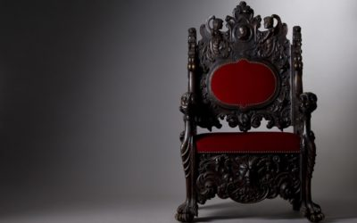 From Stools to Thrones: The Chair and Its Discontents…or, How Chairs Tell Us Who We Are
